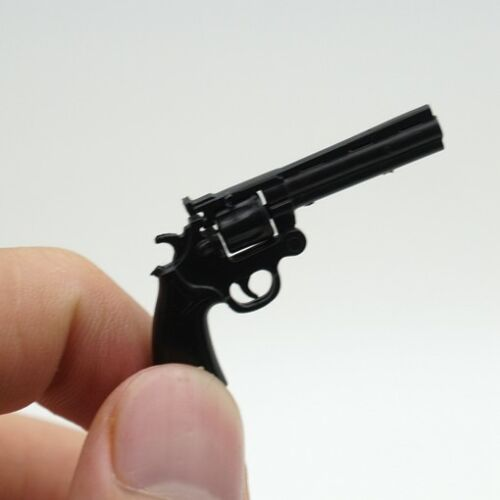 "2PC 1//6 Scale Weapon Toy Model Kohler python 357 revolver Gun F12/"" Figure Action"