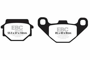 Brake Pads British All Weather Compound For Yamaha Grizzly 350cc