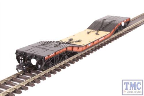 OR76WW002 Oxford Rail OO Gauge Warwell A Diamond Bogies BR Brown