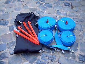 Beach-Volleyball Spielfeldmarkierung 50 mm blau/rot oder gelb für Feld 8 x 16 m