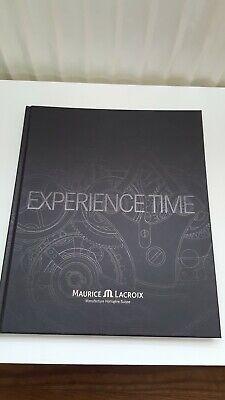Genossenschaft Maurice Lacroix, Experience Time, Buch, 2007, Neu. Für Sammler BerüHmt FüR AusgewäHlte Materialien, Neuartige Designs, Herrliche Farben Und Exquisite Verarbeitung