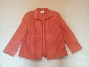 Wunderschöne hochwertige echte Lederjacke - kaum getragen * Farbe Orange - Haselünne, Deutschland - Wunderschöne hochwertige echte Lederjacke - kaum getragen * Farbe Orange - Haselünne, Deutschland