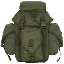 Tactical Military Recon Mission Dual MOLLE / Alice Butt Pack OD GREEN OLIVE DRAB