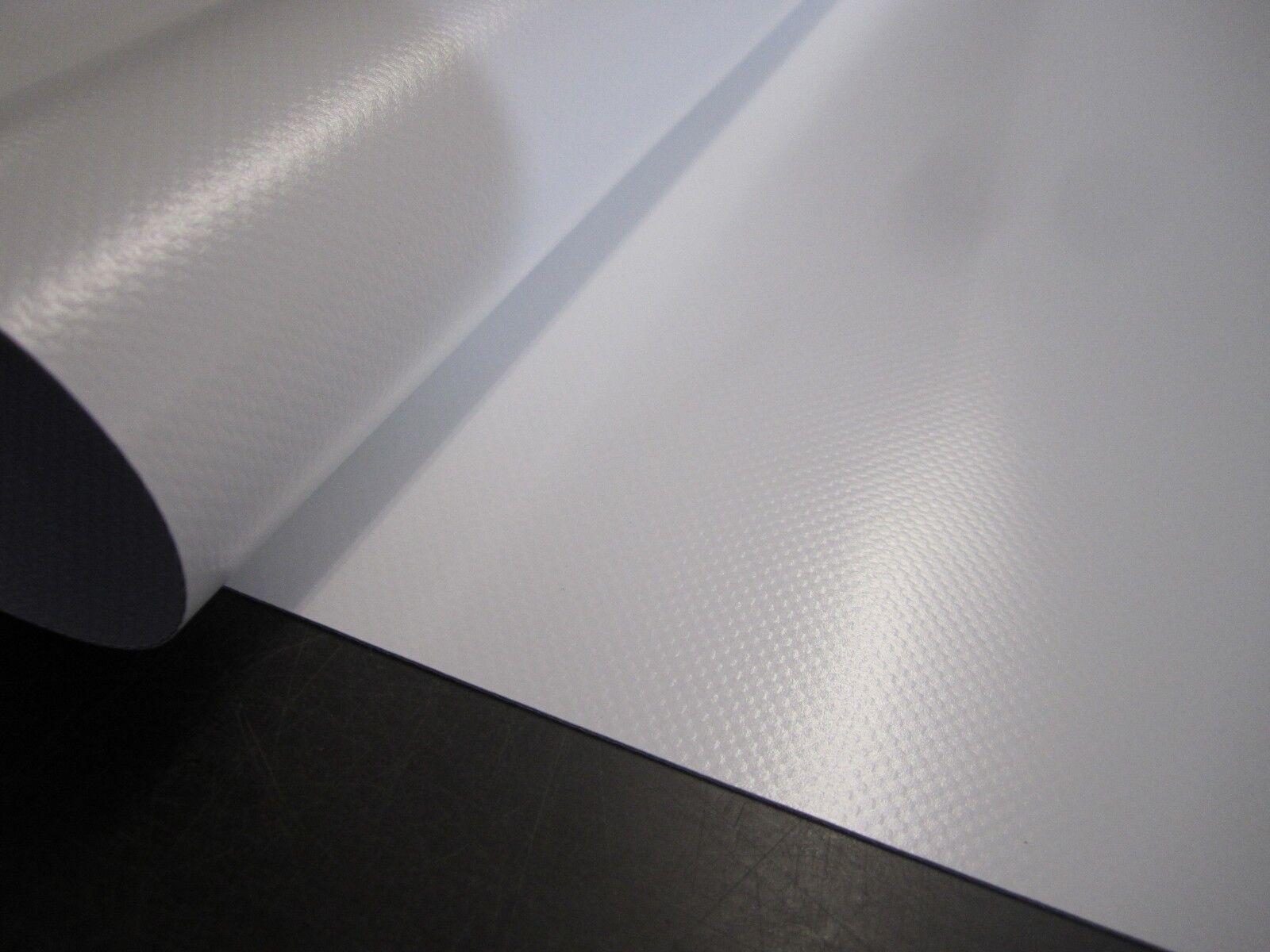 Telone PVC Pellicola 2.50 Metri in 680 Tg.   M ² Bianco A-Ware