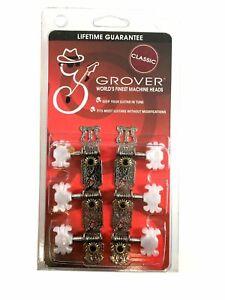 Genuine Grover Deluxe Classical Guitar 3+3 Nickel Set 6