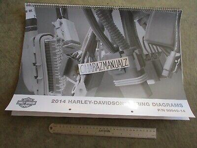 2014 Harley Davidson Wiring Diagrams Manual | eBay
