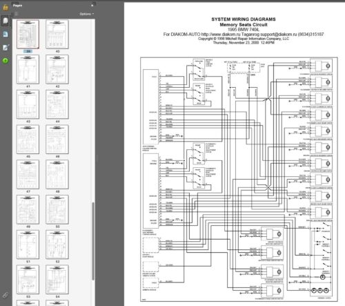 E38 E.T.M Electric Troubleshooting Manual Schemi elettrici Bmw 740i