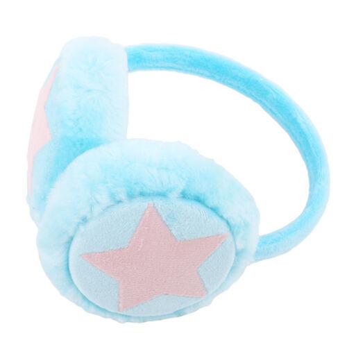 Kids Girl Cartoon Ear Muffs Plush Warm Rabbit Earmuff Ear Warmer Winter Gift KI