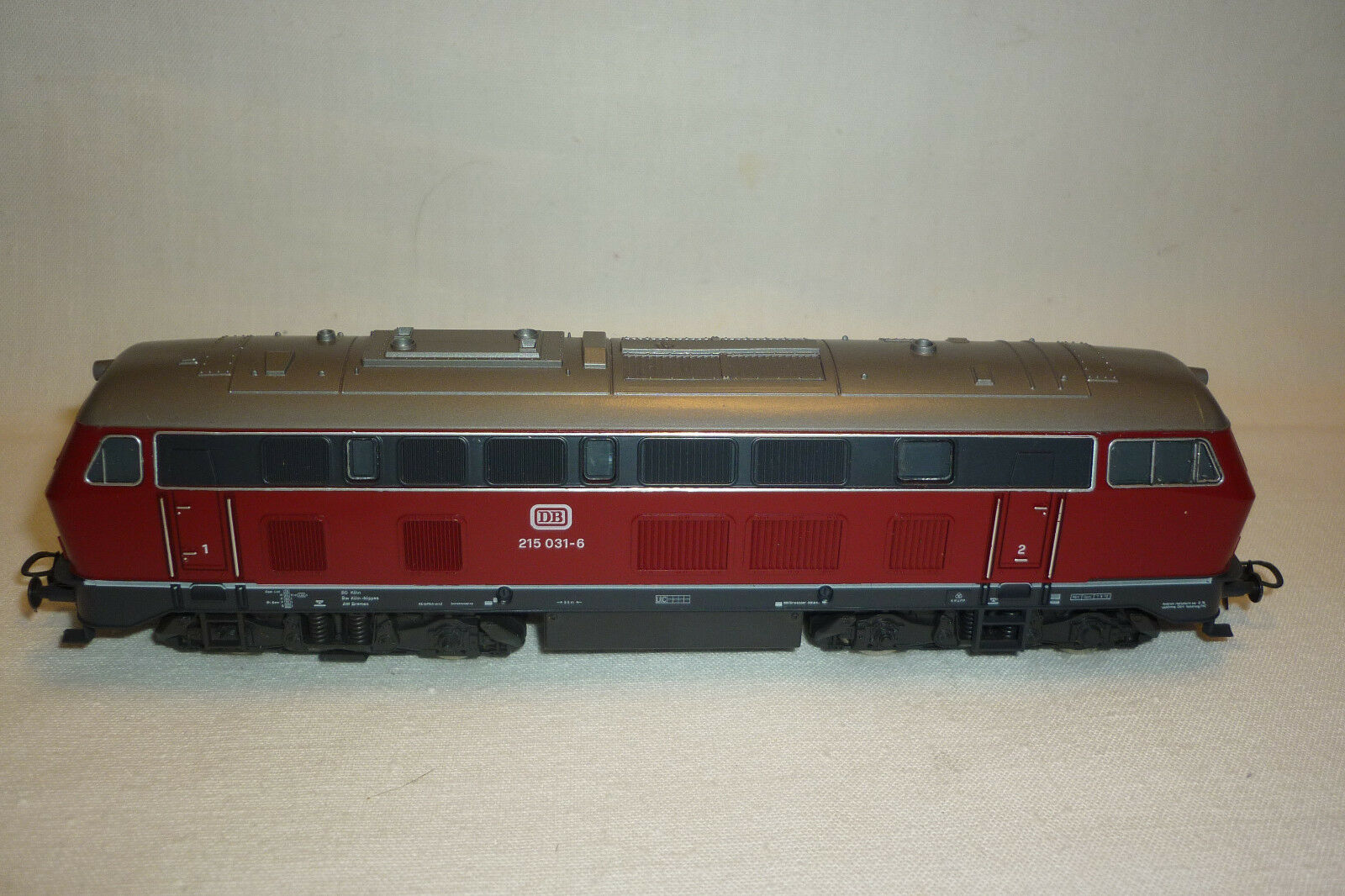 H0 scale-roco-Diesel locomotive-DB 215 031-6 (6.ei-100)