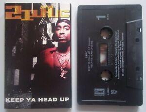 2PAC - KEEP YA HEAD UP LP Version (4:29) / EDIT (4:12) - Cassette Single - 1993