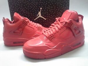 buy popular e3c8b 95f15 Details about New Air Jordan Retro 11Lab4 Red 719864-600 4 IV Triple Patent  Leather All 1