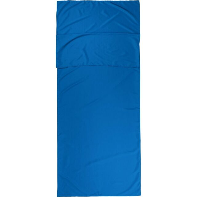 Blue Ozark Trail Rectangular Sleeping Bag Liner 78 X 33 5 For Camping