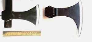 Set-of-2-Alloy-Steel-Ragnar-Lothbrok-Danax-Medieval-Viking-Axe-Hatchet-Head