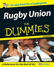 Rugby Union For Dummies by Nick Cain, Greg Growden (Paperback, 2006)