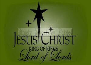 Jesus Christmas Quote.Details About Jesus Christ King Christmas Vinyl Wall Saying Lettering Quote Art Decor Decal
