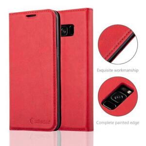 Anti-Radiation-RFID-Samsung-Wallet-Case-Red-Samsung-Galaxy-S8
