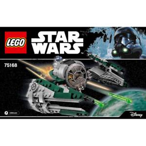 Instruction LEGO  STAR WARS Notice 75168 NEUF NEW Yoda/'s Jedi Starfighter
