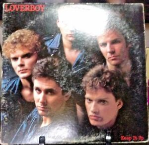 LOVERBOY-Keep-It-Up-Album-Released-1983-Vinyl-Record-Collection-US-pressed