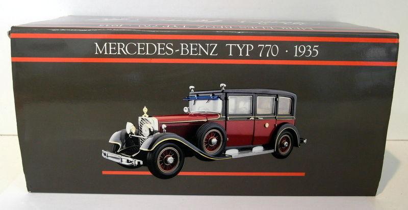 promociones de equipo Pauls Model Model Model Art Minichamps 1 24 scale Mercedes Benz Typ 770 1935 Hirohito  mejor calidad mejor precio