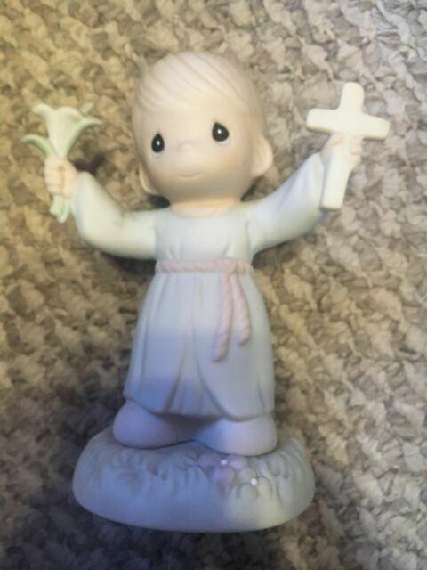 532002 MIB Precious Moment Figurine Hallelujah For The Cross