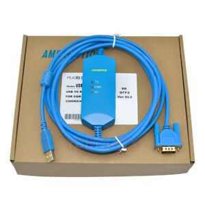USB-XW2Z-200S-CV-Isolation-Type-Cable-Fits-Omron-CQM1-C200HE-CS-Series-PLC-Cable