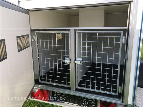 Trailer, Selandia Dogs 3 HUNDETRAILER 750Kg, lastevne