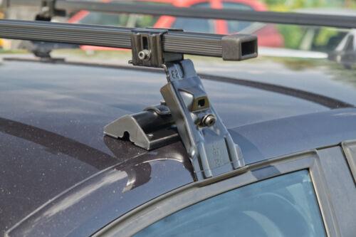 M08 Für Ford Focus MK1 I 5-Tür 99-04 Stahl Dachträger am Dachprofil Kompl
