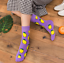 Women-Mens-Socks-Funny-Colorful-Happy-Business-Party-Cotton-Comfortable-Socks thumbnail 4
