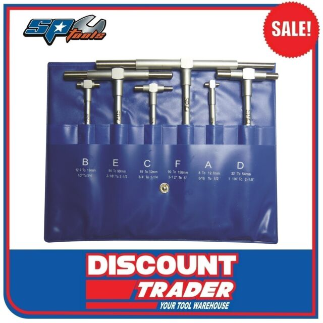 SP Tools Telescopic Gauge Set 6 Piece - SP64066