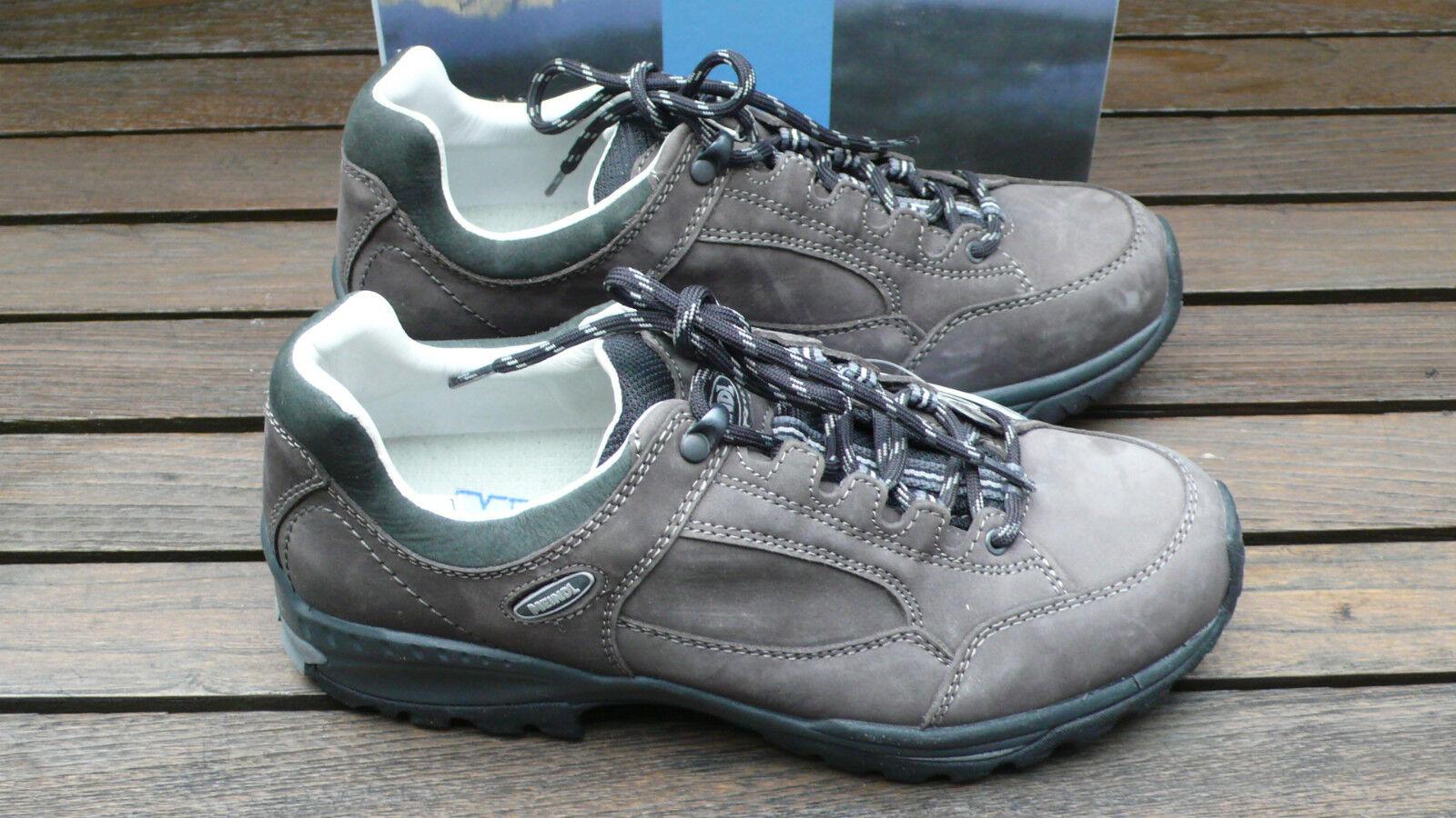 Meindl Trekkingschuh LaROTo Lady, Größe UK 8 - EUR 42  Farbe: grau anthrazit