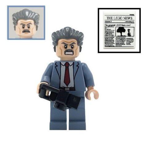 NEW LEGO Marvel Super Heroes J Camera /& Newspaper Jonah Jameson