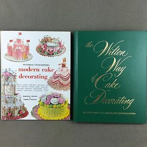 Cake Decorating Wilton Encyclopedia Reference Guides - 2 ...