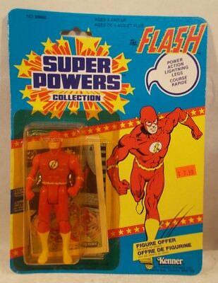 Super Powers Series 1 The Flash Scarlet Speedster Canadian Card 12 Back  (MOC)   eBay