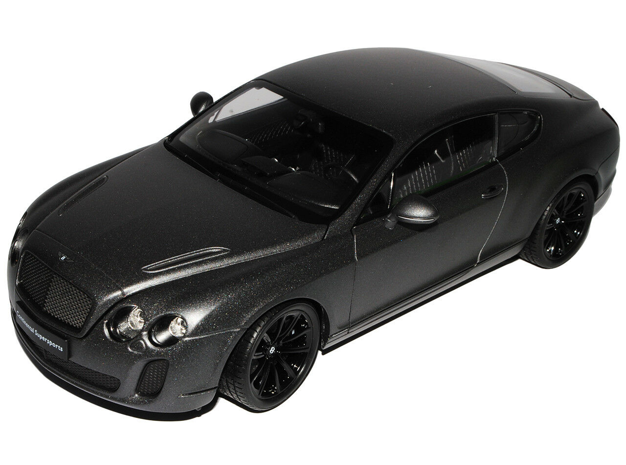 Bentley Continental Continental Continental GT Supersports Matt Grigio Nero COUPE dal 2003 1 18 Welly... de4fbf