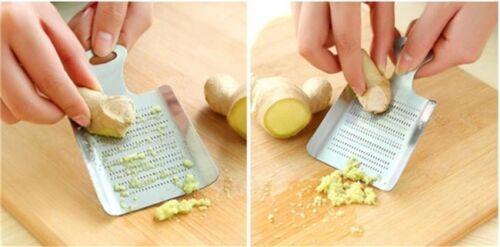 Lemon Mixer Ginger Grater Stainless Steel Wasabi Garlic Grinding Tools CF