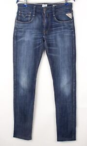 Replay Hommes Anbass Slim Jeans Extensible Taille W31 L34 BCZ155