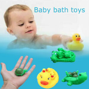Bath Toy Floating Duck Crocodile Turtle Bathroom Water Shower Play Game