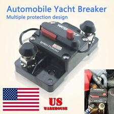 30A-300A AMP Circuit Breaker Fuse Reset 12-48V DC Car Boat Auto  Waterproof