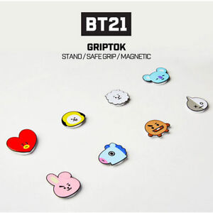 BT21-Official-Authentic-Goods-Smart-Grip-Tok-CHIMMY-KOYA-COOKY-TATA-RJ-MANG-Etc