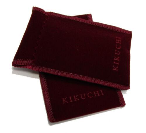 Kikuchi Herren Halskette Edelstahl Anhänger Designer-Patrone mit Lederhalsband