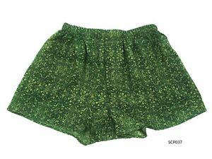 Silk-Mix-Boxer-Shorts-Men-Underwear-Underpants-Soft-Briefs-Trunk-Green-M-L-XL