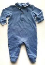 72be89bca0bd item 5 Polo Ralph Lauren Baby Boy Long Sleeve Jumper 6 Months Blue One  Piece Outfit -Polo Ralph Lauren Baby Boy Long Sleeve Jumper 6 Months Blue  One Piece ...