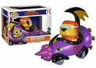 Wacky Races - Mean Machine With Goggled Muttley Pop Rides Vinyl Figure