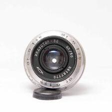 Industar -50, 50mm F=3.5  M39  Pancake Objektiv  Nr.903