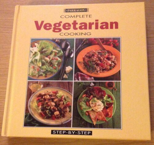 1 of 1 - COMPLETE VEGETARIAN COOKING Step By Step Book (Hardback)