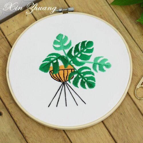 NEW DIY Embroidery Cross Stitch Kit Set for Beginner Starter Handmade Crafts Fun