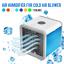 miniature 1 - Refroidisseur-Humidificateur-Purificateur-d-039-Air-Portable-Personne-Maison-Bureau