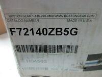 Boston Gear Reducer F72140zb5g F721-40-z-b5-g F721-40-b5-g