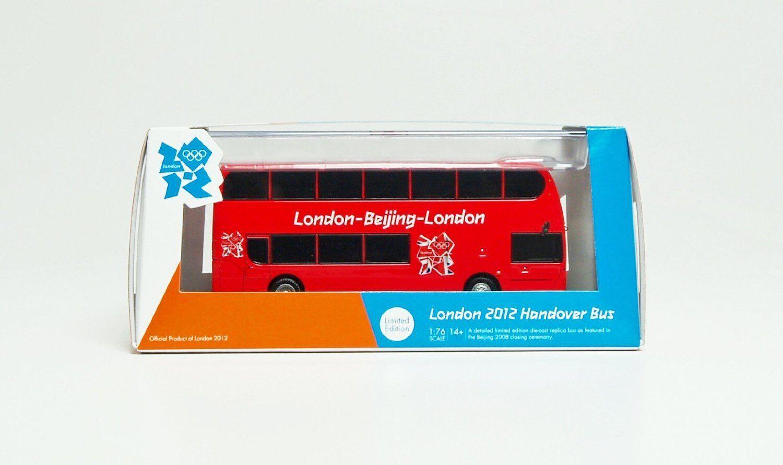 CORGI om49801 london jeux olympiques de 2012 1000 jours pour aller transfert bus métalliques modèle (
