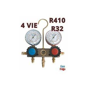 MANOMETRO-4-VIAS-DE-GAS-R410A-R32